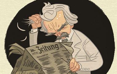 Марк Твен німецька мова
