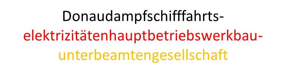 найдовше німецьке слово