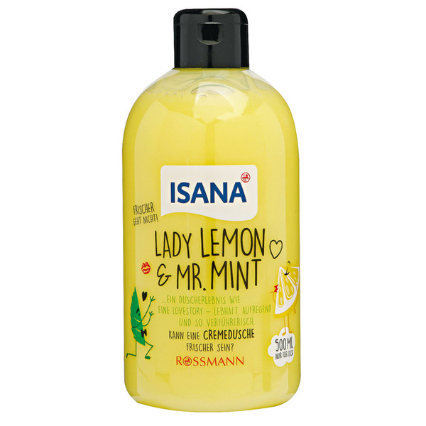 ISANA-Cremedusche-Lady-Lemon-Mr-Mint