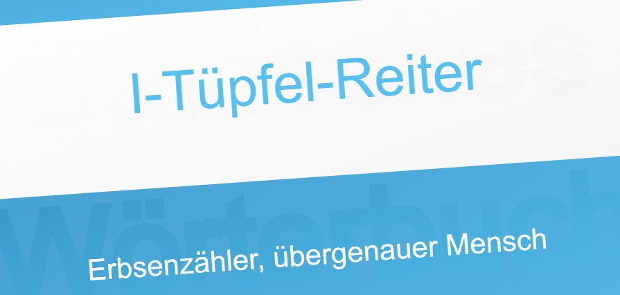 I-Tuepfel-Reiter