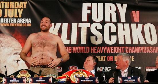 Fury Klichko